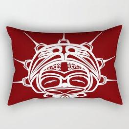 Spirit Frog Blood Rectangular Pillow