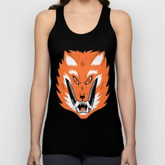 Cursed Fox Unisex Tank Top