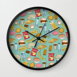 Schoollunch Wall Clock
