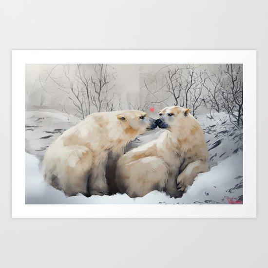 polars Art Print