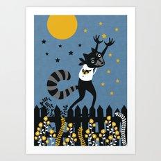 Star Thief Art Print