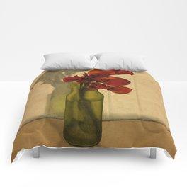 Calla lilies in bloom Comforters
