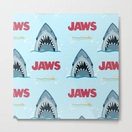 Shark Pattern no.1 Metal Print
