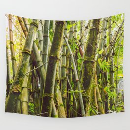 Bamboo Forest Wall Tapestry