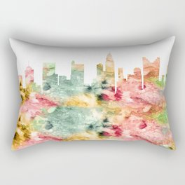Columbus City Skyline Ohio Rectangular Pillow