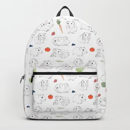 Guinea Pigs and Vegetables Backpack