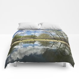 Mirrored Comforters