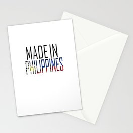 Made In Philippines Stationery Cards