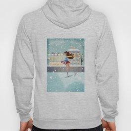 Ice Skating Girl Hoody
