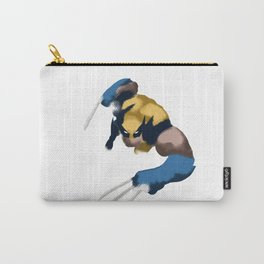 Wolverine minimalist Splash Poster Carry-All Pouch