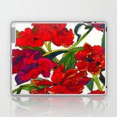 Inky Tulips Laptop & iPad Skin