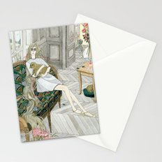 Two Puppies Stationery Cards