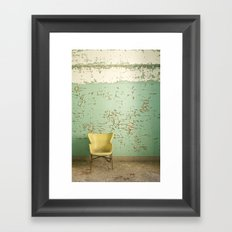 sit pretty with me Framed Art Print
