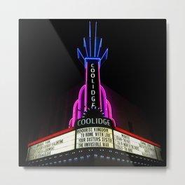 Coolidge Corner Theater Marquee Metal Print