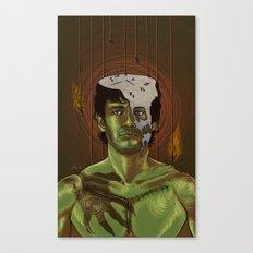 Somebody help Will Graham Canvas Print