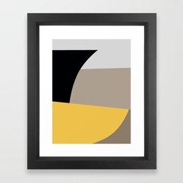 Mid Century Minimal 5 Framed Art Print