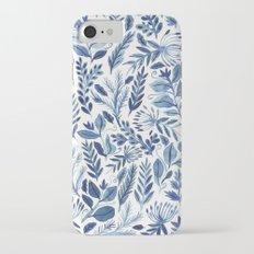 indigo scatter Slim Case iPhone 7