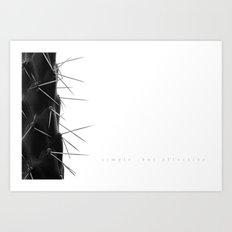 Simple - but effective. Art Print