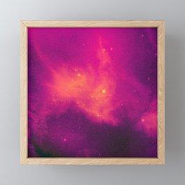 In the Glow of a Magenta Sky Framed Mini Art Print