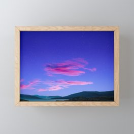 Candy Floss in South African Skyline Framed Mini Art Print