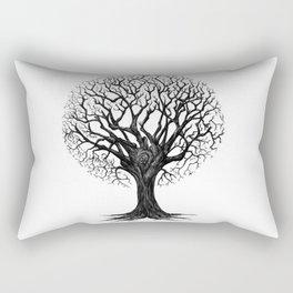 Fashionable Tree Rectangular Pillow