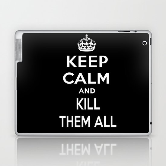Keep Calm Laptop & iPad Skin