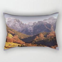 warming up my soul Rectangular Pillow