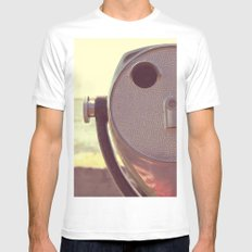 viewfinder  Mens Fitted Tee White MEDIUM