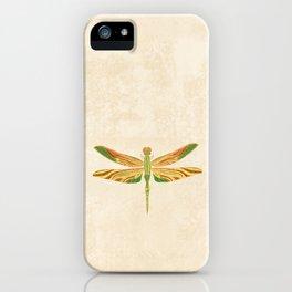 Antique Art Nouveau Dragonfly iPhone Case