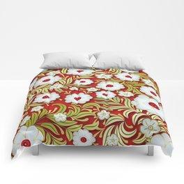 Art Flowers V3 Comforters