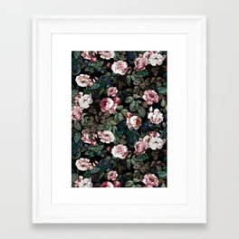 NIGHT FOREST XX Framed Art Print