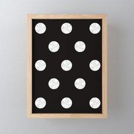Polka like you mean it Framed Mini Art Print