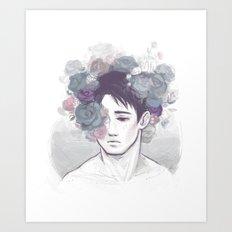 Marco's crown Art Print