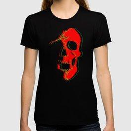 Skull - Red T-shirt
