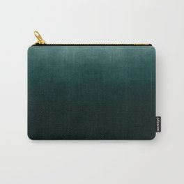 Ombre Emerald Carry-All Pouch