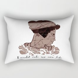 I Would Rule my Own Fate - Helen of Sparta Rectangular Pillow