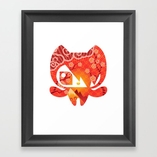 Takome Framed Art Print