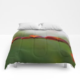 Crocosmia Up Close Comforters