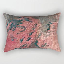 Denim and Diamonds Rectangular Pillow