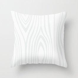 Wood background. White Wooden Slats  #society6 #decor #buyart #artprint Throw Pillow