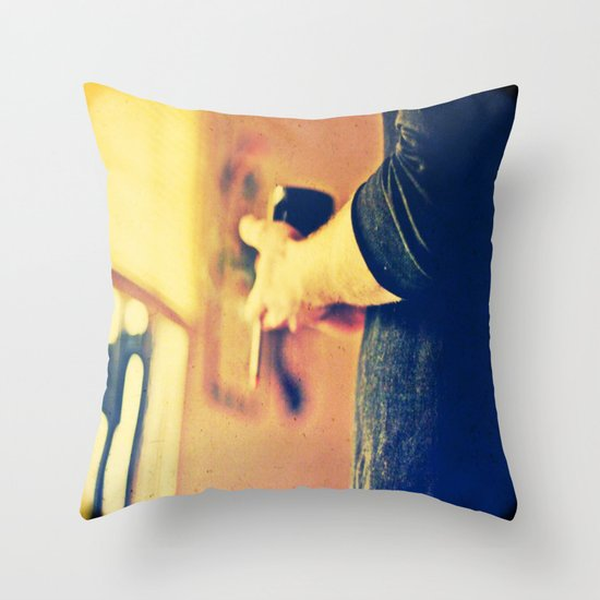 top of the morning Throw Pillow