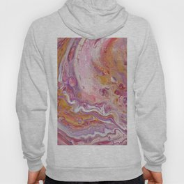 Fluid Nature - Ripple In My Aura - Abstract Acrylic Art Hoody