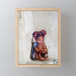 Sugar on the Floor Framed Mini Art Print