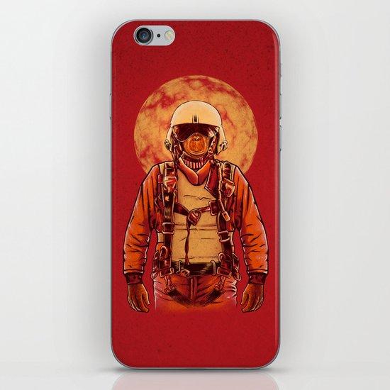 parachutist iPhone & iPod Skin