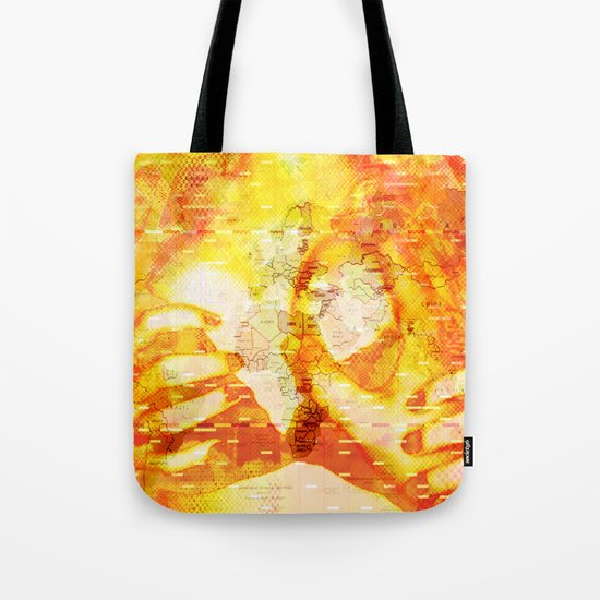 Never In A Million Years < The NO Series (Orange) Tote Bag