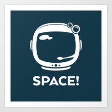 Space! Art Print