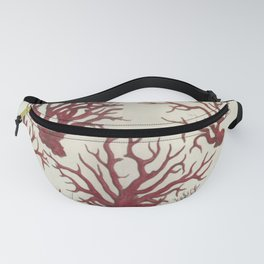 Naturalist Red Coral Fanny Pack