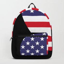 USA Flag Guitar Plectrum Backpack