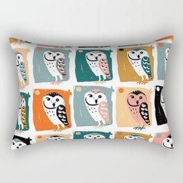 Barn Owl pattern Rectangular Pillow