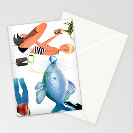 Surrealism Stationery Cards
